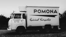 Un camion Pomona réfrigéré en 1965